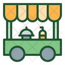 Food Cart Food Truck Food Vehicle Icon