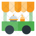 Food Cart Food Truck Food Vehicle Icon