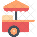 Food Cart Business Icon