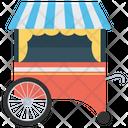 Food Cart Street Food Food Selling Icon