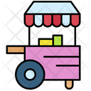 Food Cart Cart Concession Icon