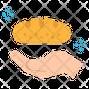 Bread Hand Food Icon