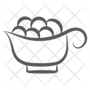 Food Container Food Bowl Food Tray Icon
