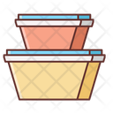 Mfood Containers Icon