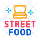 Street Food Container Icon