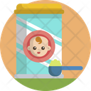 Baby Feeding Child Icon