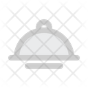 Food Cover Kitchen Cooking Icon