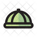 Food Cover Cooking Set Icon