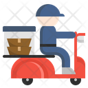 Food Delivery Drive Icon
