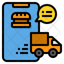 Food Delivery Delivery Order Icon