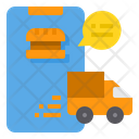 Food Delivery Delivery Order Smartphone Online Icon