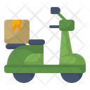 Bike Delivery Food Icon