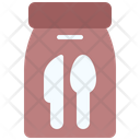 Food Delivery Spoon Fork Icon