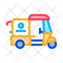 Tuk Food Delivery Icon