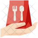 Food Delivery No Dine In Food Icon