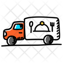 Food Delivery Food Truck Fast Food Icon