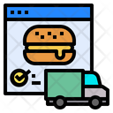Website Food Delivery Icon