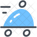 Food Delivery Order Cloche Icon