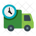 Deliver Food On Time Icon