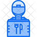 Courier Thermo Bag Icon