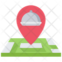 Food delivery location Icon