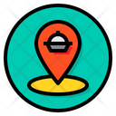 Tracking Food Order Icon