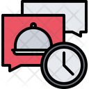 Message Time Clock Icon