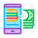 Food Delivery Payment Icon