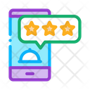 Food Delivery Review Icon