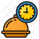 Food Delivery Time Food Delivery Icon