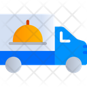 Food Delivery Truck Icon
