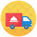 Food Delivery Delivery Van Delivery Truck Icon