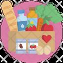 Food Help Heart Icon