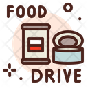 Food Donation Food Drive Icon