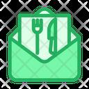 Food Invitation Icon