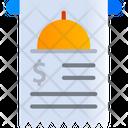 Food Invoice Icon