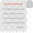 Food Invoice Icon