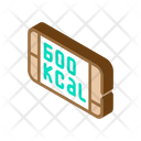 Food Kcal Isometric Icon