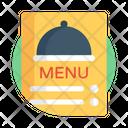 Cuisine Menu Food Menu Menu Card Icon