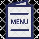 Food Menu Restaurant Menu Dining Menu Icon