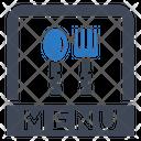 Food Menu List Icon