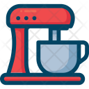 Food Processor Mixer Icon