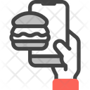 Food Order App Delivery Icon