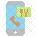 Food Order Call Icon