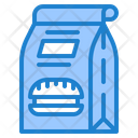 Food Bag Delivery Icon