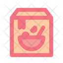 Food Package Package Ready To Cook Icon