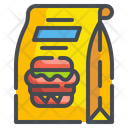 Food Package Box Packaging Icon