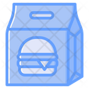 Paper Bag Food Package Package Icon