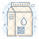Food Packaging Barcode Icon