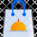 Food Parcel Bag Icon